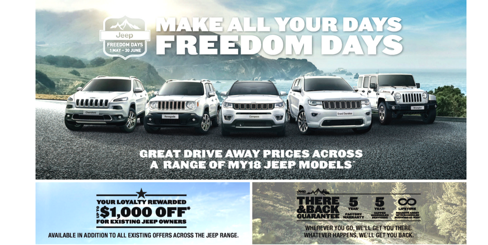 Make all your days Freedom Days at Keema Jeep
